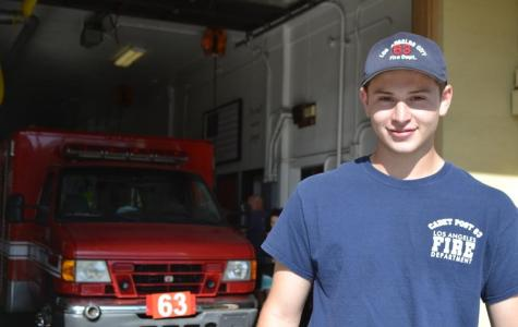 Job hunt uncovers a passion for firefighting