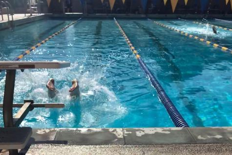 Swim team competes at local YULA tournament