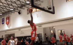 Jacob Benezra dunk at Glouberman Tournament