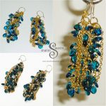 Beadsoup-Blue-Earrings