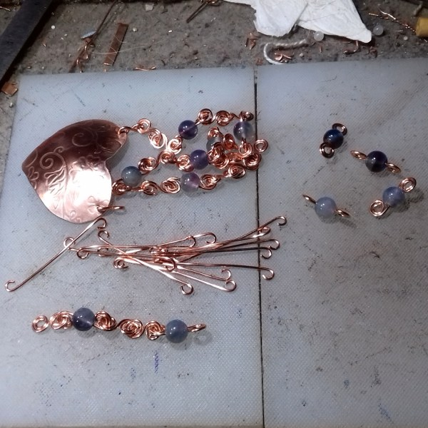 Copper Hearts - work in progress