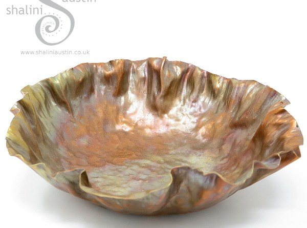 Beaten Copper Bowl
