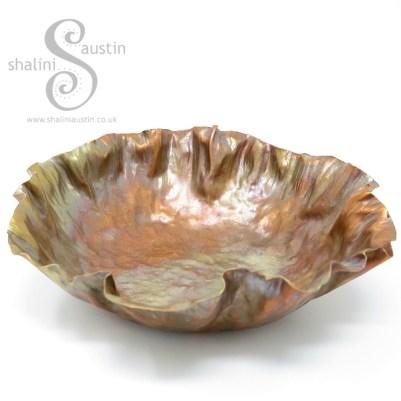 Beaten Copper Bowl