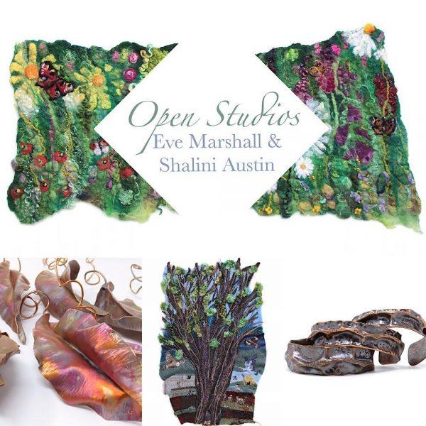 Eve Marshall & Shalini Austin at Peterborough Artist' Open Studios 2019