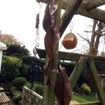 Handmade to Order – Decorative Copper Leaf Sculpture