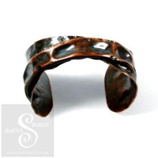 Unisex Copper Cuff Bracelet