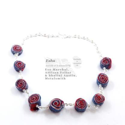 Necklace STICK OF ROCK Handcrafted by Esha - Eve Marshall and Shalini Austin