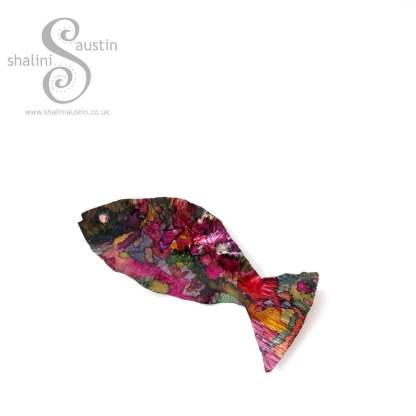 Colourful Little Fish Hanging Decoration 02