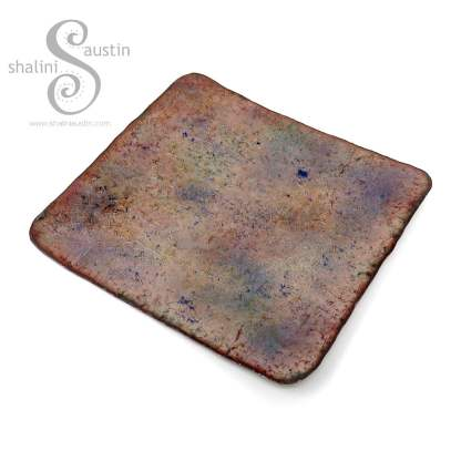 Enamelled Copper Trinket Tray (02)