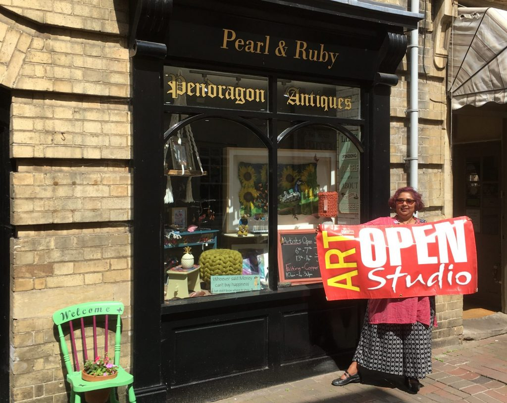 Peterborough Artists Open Studios with Eve & Shalini