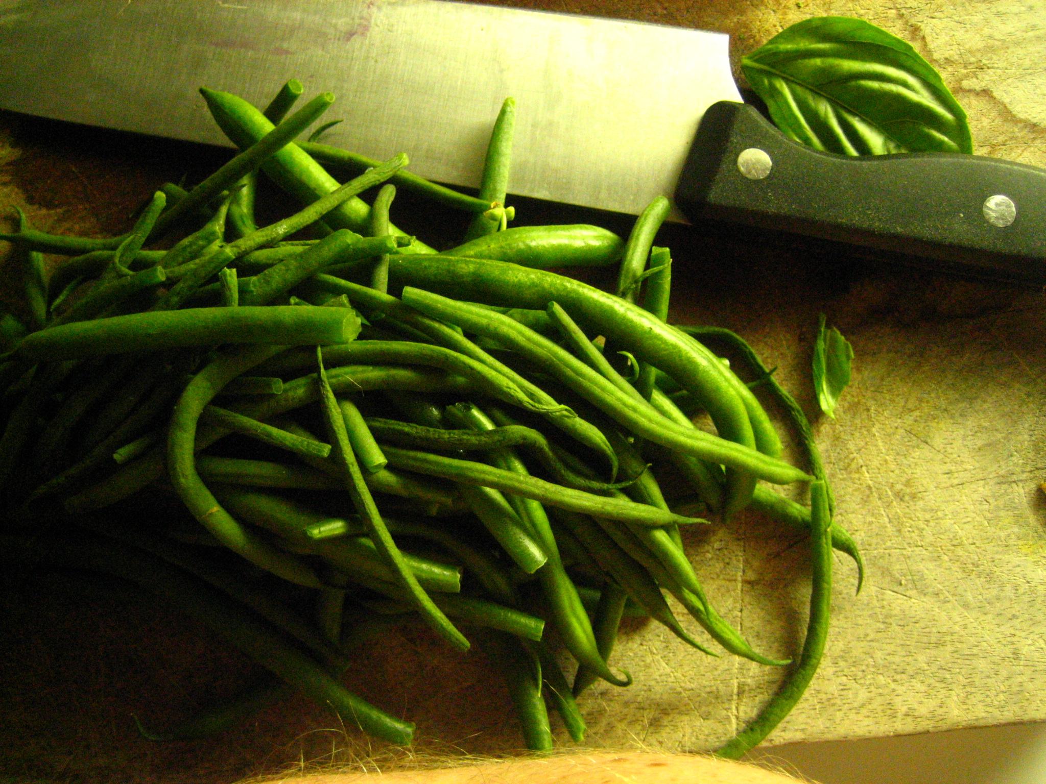 Haricot Verts = Thin Green Beans