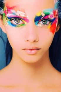 rainbow-makeup