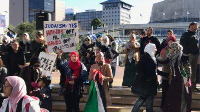 Auckland Al-Aqsa protest