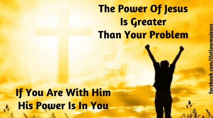THE POWER OF CHRIST IN THE PROBLEMS OF LIFE - November 2017