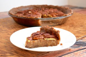 Raw Pecan Pie (Grain Free, Vegan)