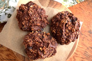 Double-Chocolate Banana Oatmeal Mounds (GF, V, OF)