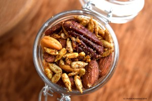 Spicy Mixed Nuts (Vegan, Grain Free, Sugar Free)