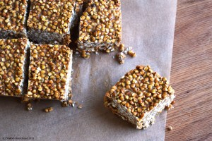 Raw Maple Tahini Bars #grainfree #raw #vegan #glutenfree