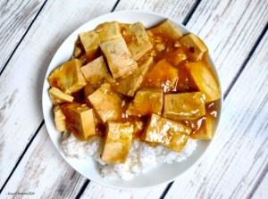 #vegan orange tofu