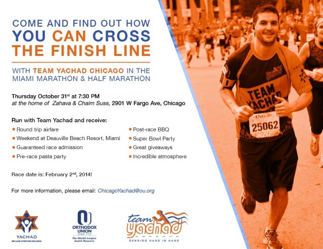 Miami Marathon with Chicago Yachad