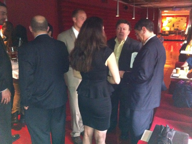 at our joint Chicago DC business networking event