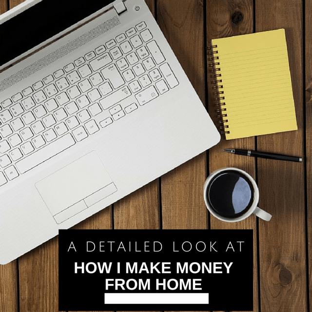 how i make money from home