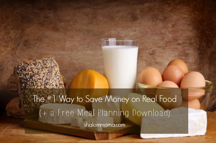 The #1 Way to Save Money on Real Food