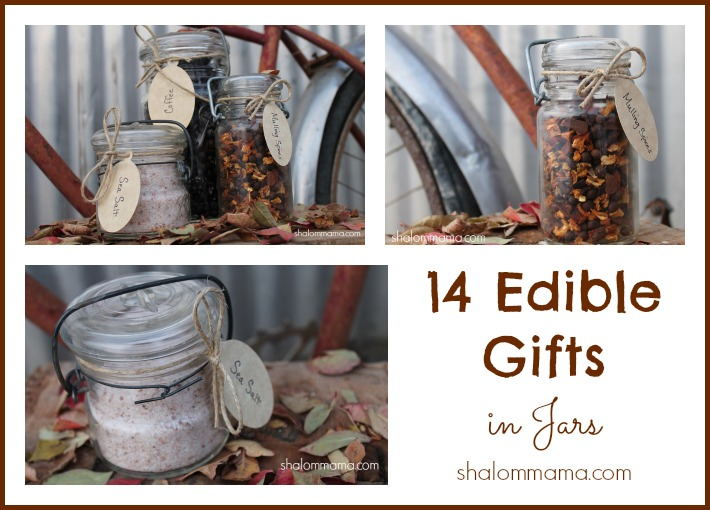 14 Edible Gifts in Jars