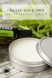 Create Your Own Natural Remedies Cabinet