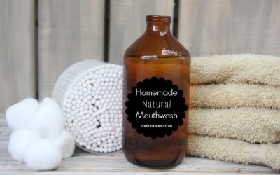 Homemade Natural Mouthwash