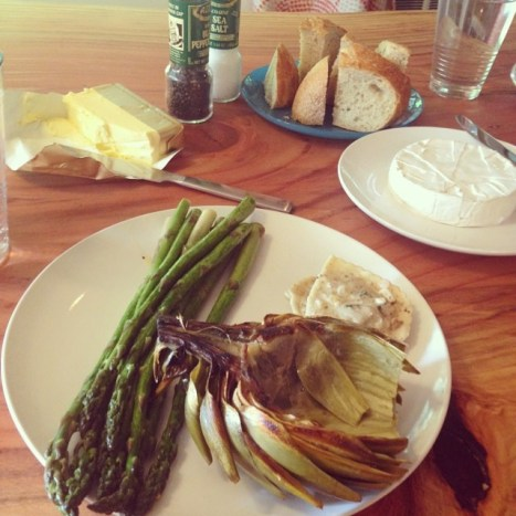 retreat foodie goodness