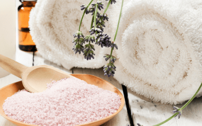 DIY Lavender Cardamom Bath Salts