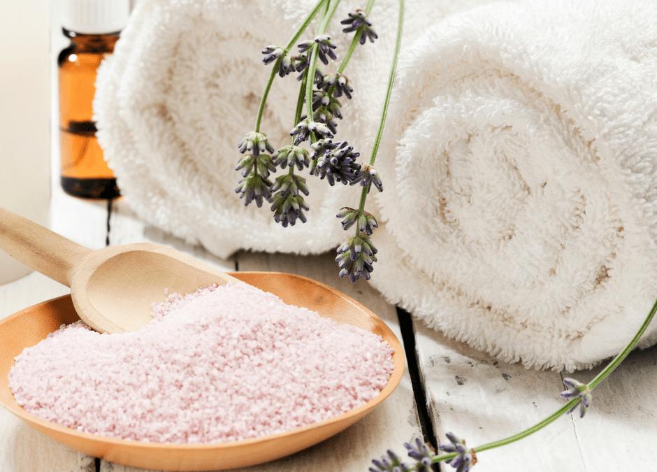 DIY Lavender Cardamom Bath Salts