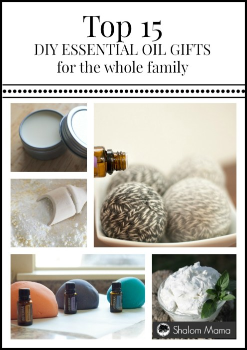 Top 15 Essential Oil Gifts for the Whole Family