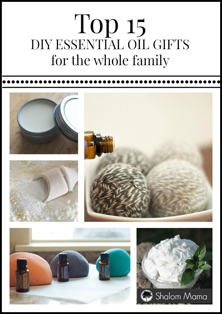 Top 15 DIY Essential Oil Gifts for the Whole Family