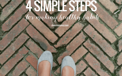 4 simple steps for making healthy habits