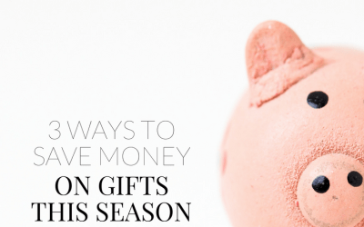 3 ways to save money on gifts this season