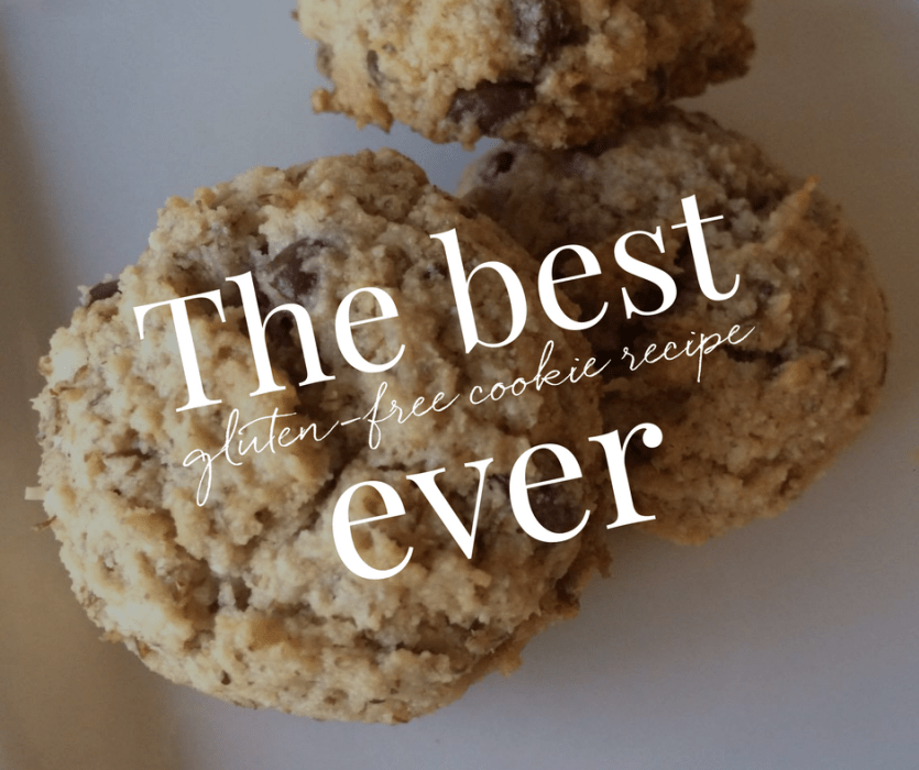 The best gluten-free chocolate chip cookie recipe ever