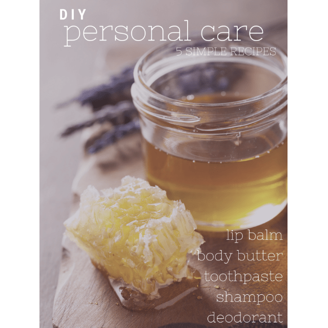 DIY Personal Care Recipes