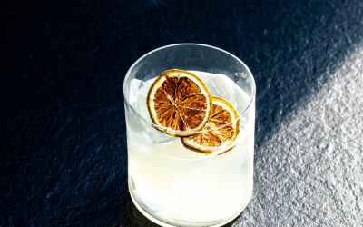 Orange Fresca Margaritas with DIY Orange Simple Syrup