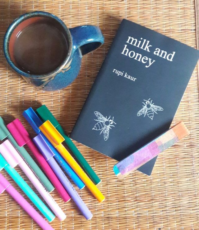 Book-review-milk-and-honey-rupi-Kaur-poetry-collection-feminism-women-issues-abuse-alcoholism-love-breakup-shalzmojosays-milk&honey