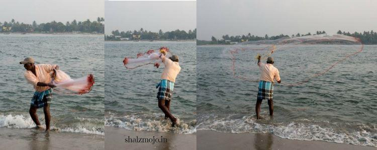 A2Z-BADGE-2017-blogging-challenge-theme-reveal-travel-stories-picture-speaks-louder-than-words-april-shalzmojosays-roadtrip-girltravel-india-fort-kochi-beach-nonchalant-morning-walk-kittens-waves-sea-seashells-fishing-nets-kerala-appams
