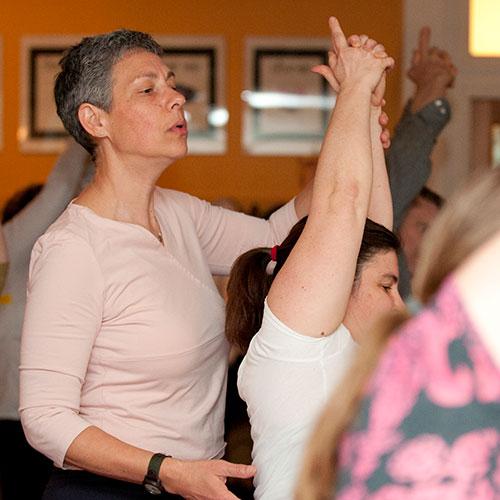 Charlene Bradin teaches Hatha Yoga Level I/II
