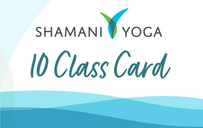 Shamani Yoga 10 Class Card