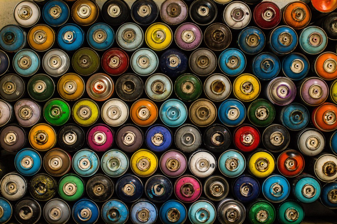 Creative paint cans