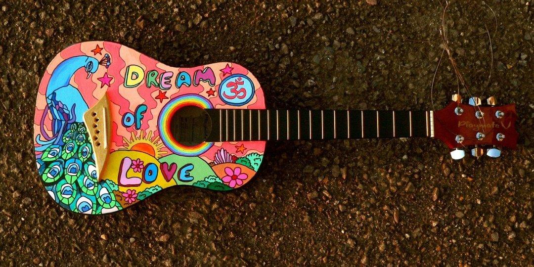Mushroom Spores Guitar