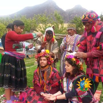 MARRIAGE ANDEAN INCA