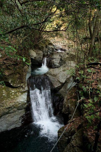 Водопад Ebi (Эби — «креветка»).