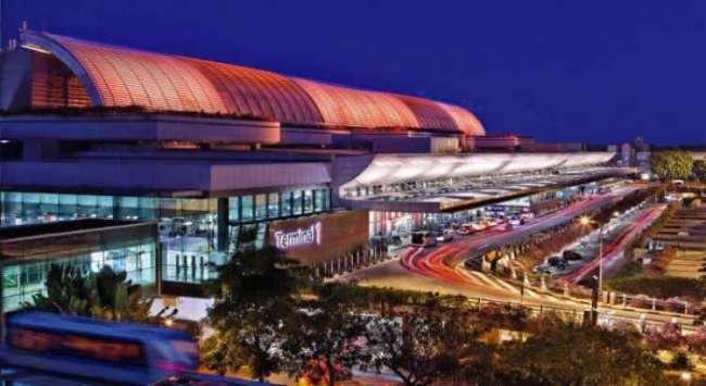 Аэропорт Чанги.