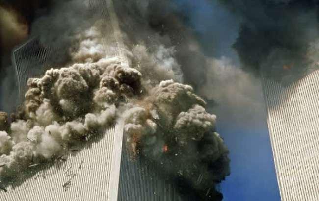 Верхушка Южной башни накренилась и начала падение